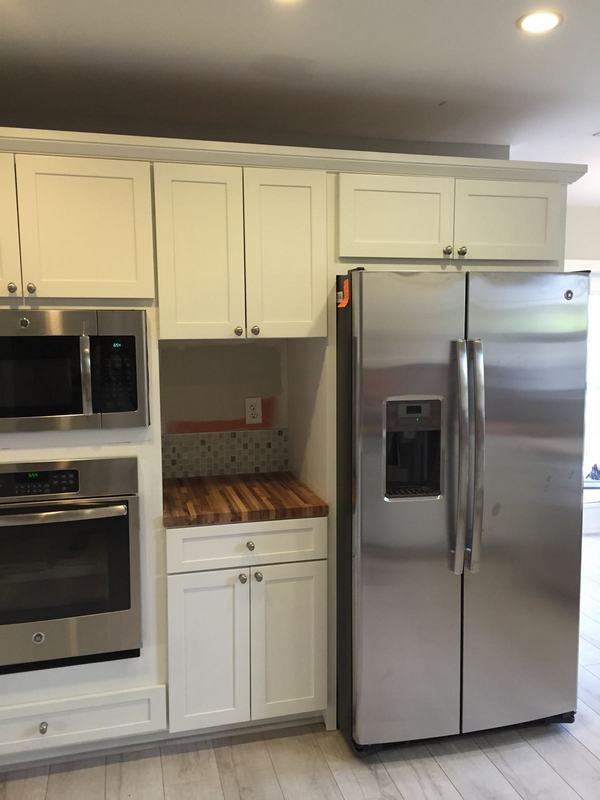 Total Kitchen Cabinet Revamp » Doctor Cabinets